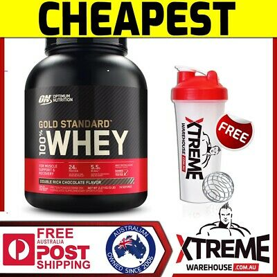 Optimum Nutrition 100% Whey Cookies & Crm 5Lb - Gold Standard Protein Wpi Wpc ))
