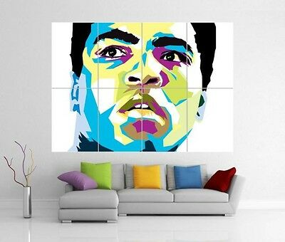 Muhammad Ali Giant Wall Art Print Poster H155