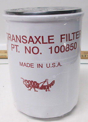 OEM GRASSHOPPER TRANSMISSION Oil Filter Grasshopper 100850 Woods 71066
