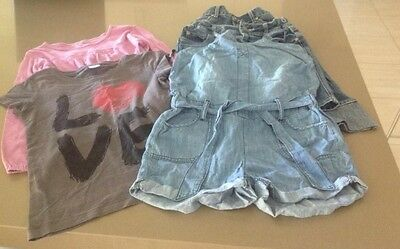 USED Size 9 Girls Clothing Lot - 5 pieces - Pumpkin Patch & Target