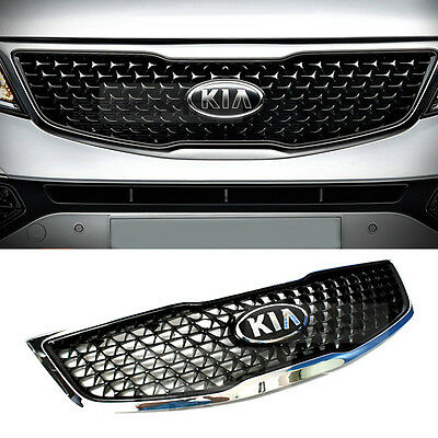 OEM Genuine Parts Front Hood Radiator Grille Trim For KIA 2011-2016 Sportage R