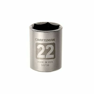 "CRAFTSMAN 1/2"" Dr Metric MM Socket 6PT Point Laser Etched Easy Read - ANY SIZE"