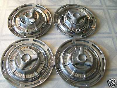 1959 Chevy  Spinner  Hubcap/ Set Of 4