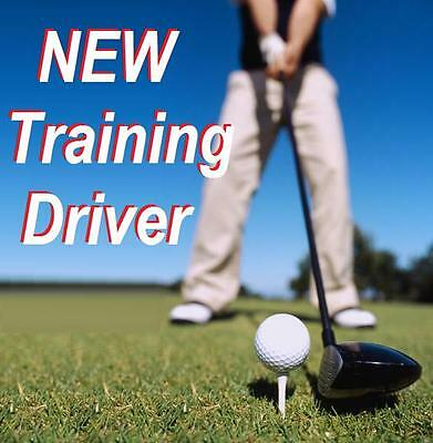 LH MENS or TEEN TRAINING GOLF CLUB DRIVER with TEACHING Grip Coaching LEFT HAND
