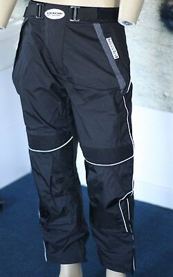 Motocross Freestyle Enduro Race Pants Trousers Adult Small Black