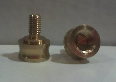 Lamp Finial Adapter**solid Brass**(1-Pc.)