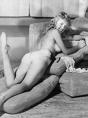 MARILYN MONROE NORMA JEAN TOPLESS EARLY YOUNG 11x14 PHOTO POSTER REPRINT PRINT