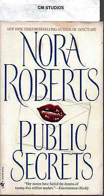 PUBLIC SECRETS by NORA ROBERTS PB 1998 FIRST EDITION VERY GOOD