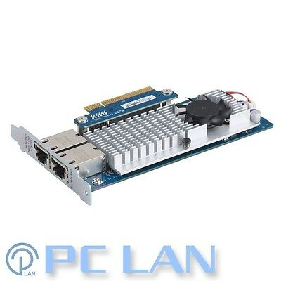 QNAP Dual-Port 10Gb Network Expansion Card for Tower Model LAN-10G2T-D