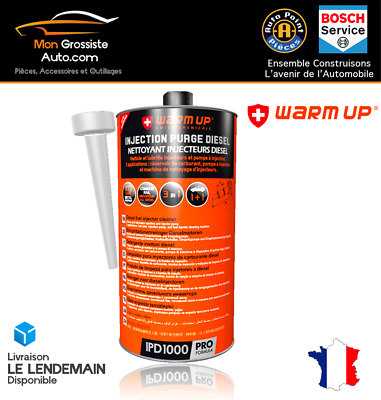 WARM UP INJECTION PURGE DIESEL Nettoyant injecteur PRO