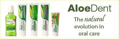AloeDent Fluoride Free Toothpaste - Full Selection - Best Price Around