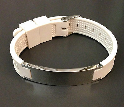 Magnetic Negative ION Powerband Health Energy Bracelet - USA ship