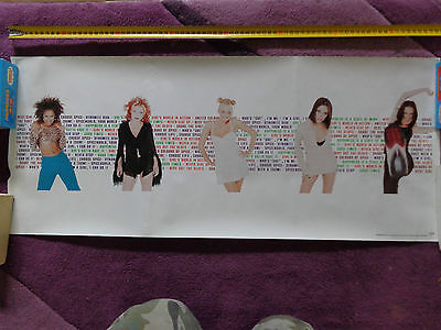 SPICE GIRLS_RARE PROMO POSTER_ships from AUSTRALIA!_19b