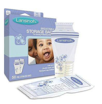 Lansinoh Milk Storage Bags x 50 - Great Price