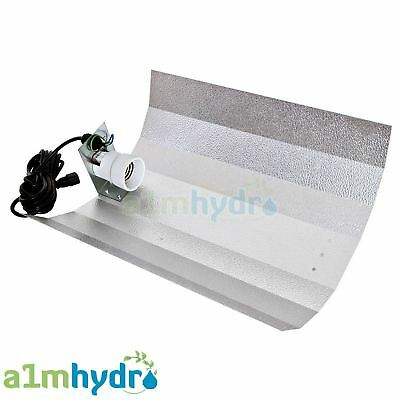 Euro Grow Light Shade Reflector Dutch Barn Style Suitable Up To 600W Hydroponics