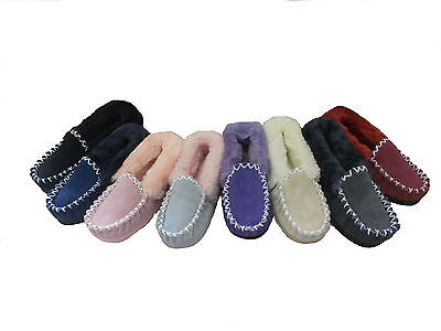 Australian Sheepskin Moccasins  Multi Colours, multi Size for Youth Boy and Girl