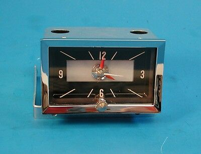 1957 Chevy Quartz Clock, BelAir, 210, 150, Wagon Models 57 NEW