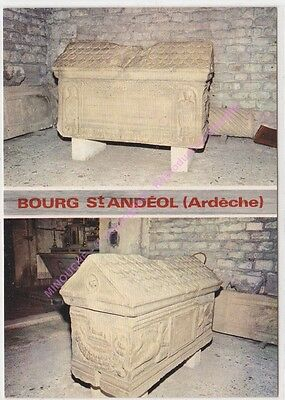 CPSM 07700 BOURG ST ANDEOL Sarcophage 2 vues  Edt G.A.L.