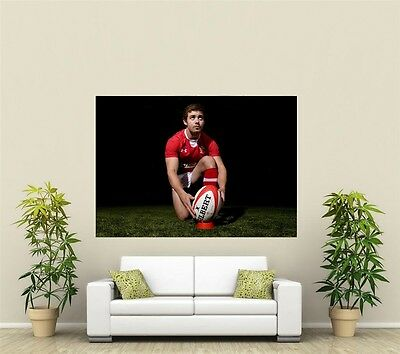 Leigh Halfpenny Wales & Lions Rugby  Giant 1 Piece  Wall Art Poster SP231
