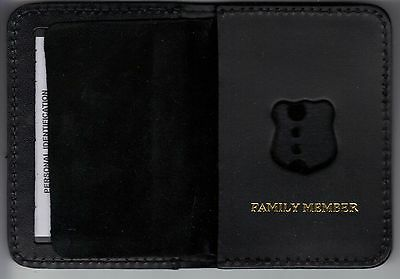 Officer's Family Member Wallet to hold mini badge (mini badge not included)