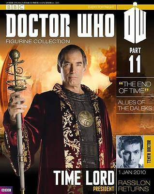 Doctor Who Figurine Collection Issue 11 Rassilon Factory Sealed New