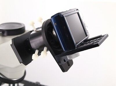 Universal Microscope Adapter for Point & Shoot Type Cameras - Canon, Nikon, Sony