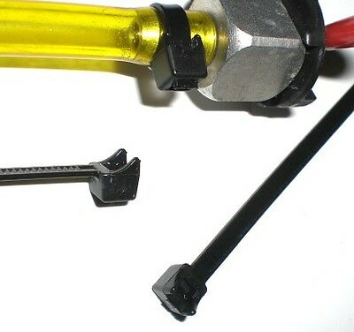 quarter midget / kart   WRP Trick Hose clamp ties Features a curved head 10PK