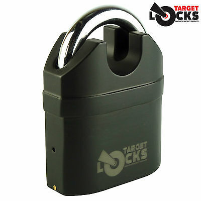 HEAVY DUTY SIREN ALARM PADLOCK ALARMED 20ft 40ft SHIPPING STORAGE CONTAINER LOCK