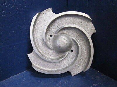 "Wilson Snyder 59396 Pump Impeller 7-5/8"" Dia 4 Vane Stainless Steel"