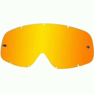 Oakley MX NEW O-frame O Frame Motocross Goggles Replacement Fire Red Tinted Lens