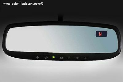 Nissan Rogue 2014+Electronic Auto-Dimming Mirror W Home Link/compass