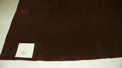 Deep Burgundy Velvet Upholstery Fabric 1 Yard