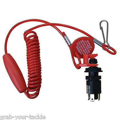 Emergency Cut Out /Kill Switch Seachoice  Seadoo boat Jet Ski PWC Ignition NEW
