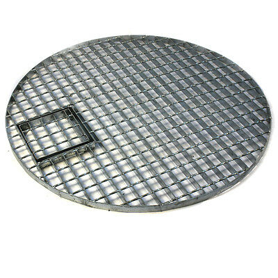 Round Galvanised Steel Grid 70cm Ø Ideal for Water Features