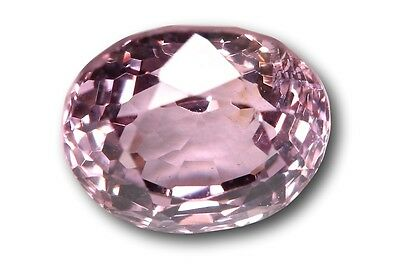 Spinelle naturel 1.45 carat, rose