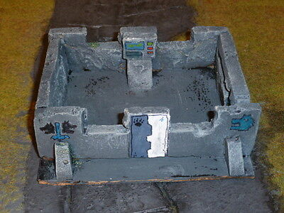 Warhammer 40k painted Space Wolves terrain semi bunker scenic elements 28mm