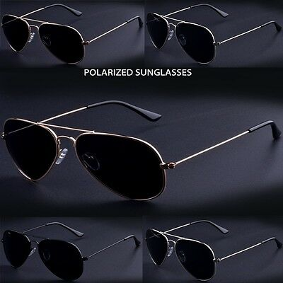 High-end Classic Hot Unisex Aviator Sunglasses polarized outdoor Driving glasses
