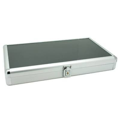 Locking Aluminum Display Case Storage Organizer Sales Presentaiton  Case