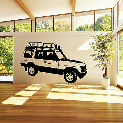 LAND ROVER DISCOVERY 4 WHEEL DRIVE VEHICLE CAR Vinyl wall art sticker decal