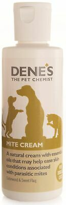Denes Mite Cream 100ml Dog Cat Natural Soothe Skin bites