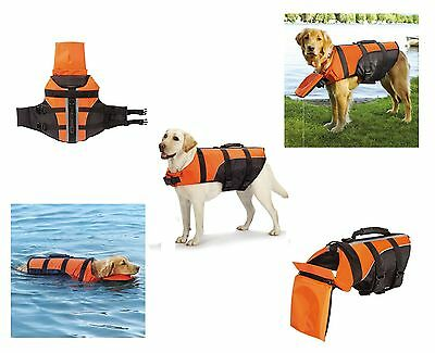 Deluxe Detachable Pillow Vest for Dogs - Water Safety Dog Flotation Life Vests !