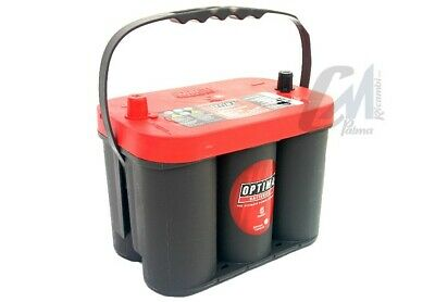 Rtc42 Batteria Originale Optima® Red Top 50Ah 815A Fiat Freemont Jeep Wrangler