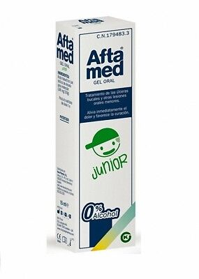 AFTAMED JUNIOR GEL ORAL 15ml KERN PHARMA 179483  MONOVARSALUD