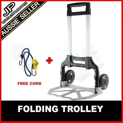 Portable Folding Luggage Cart Hand Trolley Wheel Truck Heavy Duty NOT MAGNA CART