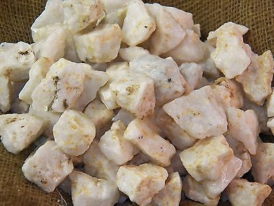 2000 Carat Lots of White Calcite -  Plus a FREE Faceted Gemstone