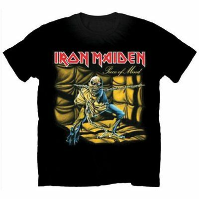 OFFICIAL IRON MAIDEN Piece Of Mind T-shirt NEW All Sizes The Trooper Icarus Logo