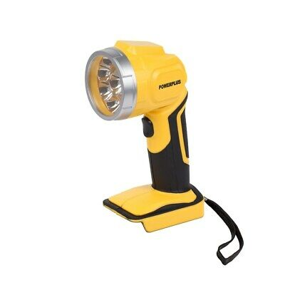 Powerplus Cordless 18v Li-ion 9 LED Torch WITHOUT Battery POWX0090LI