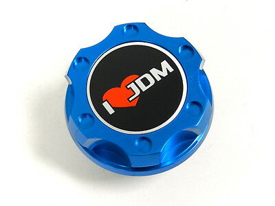 ORANGE I LOVE JDM BILLET CNC RACING ENGINE OIL FILLER CAP FOR HONDA ACURA