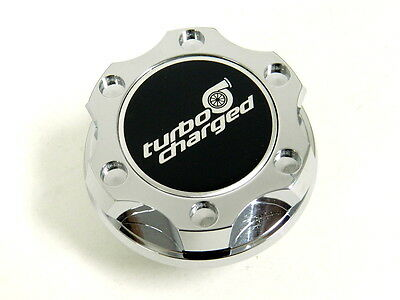 CHROME KA24DE LS-STYLE BILLET ENGINE OIL FILLER CAP FOR NISSAN INFINITI