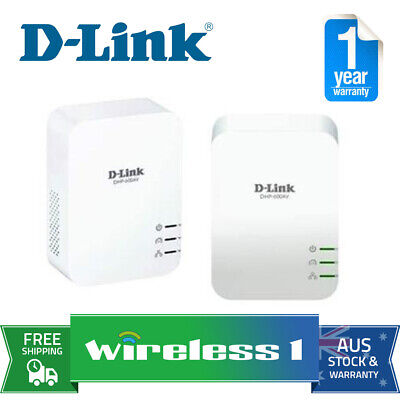 D-Link DHP-601AV PowerLine AV2 1000 Gigabit Starter Kit